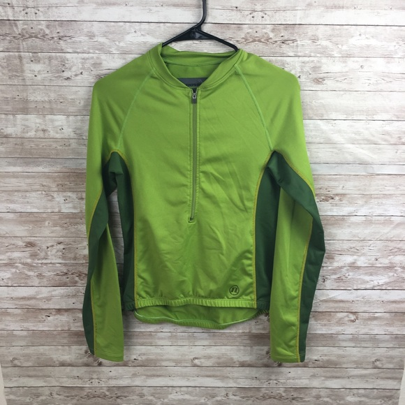 Novara Jackets & Blazers - Novara Green Bike Jacket Size Small